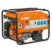 Генератор бензиновый Скат УГБ-4000Е (4,5 квт) фото