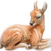 Скульптура Олененок 27х23х14см. арт.AHURA-152 фото