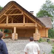 Деревянная баня бруса фото