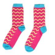 Носки ZigZag — Pink — Socks'N'Roll фото