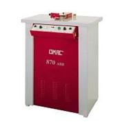OMAC 870 ABB.Горизонтальная полировочная машина-финишер с устройством для протяжки материала фото