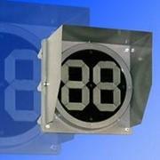 Noname Светофорное табло обратного отсчета времени 200 мм одноцветное зеленое светофора транспортного арт. СцП23407 фото