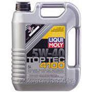 Моторное масло liquimoly 5W-40 Top Tec 5L фото
