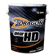 Редукторное масло DRAGON GEAR HD 85W140 GL-5 20л фото