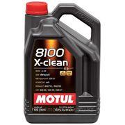Моторное масло MOTUL 8100 X-clean 5W-40 — C3, 5 литров фото
