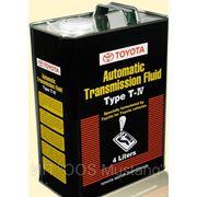 Жидкость для АКПП автомобилей Toyota Fluid T4 WS (4L, 20L) фото