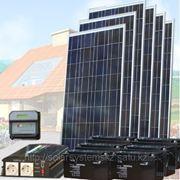Солнечная энергосистема SMS-24V/750W/450Ah фото