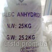 Малеиновый ангидрид (ангидрид малеиновой кислоты, 2,5-фурандион) фото