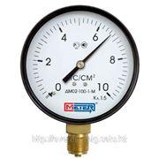 Манометр общетехнический ДМ02-250-1-М (0-6,10,16,25) кгс/см2 фото