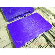 Универсальный пластиковый паллет 1200х800 (Синий) фото