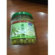 Горошек зелёный консервированный в/с, тв, Брилёво РБ фото