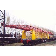 Продаем кран железнодорожный укладочный УК-25 фото