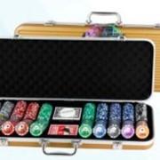 """Покерный набор """"Техасский холдем"""" Gold Case фото"""