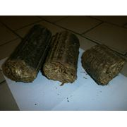 Брикеты из соломы для отопления помещений фото