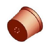 Горшок для рассады и цветочный 0,8 л. (классический) фото