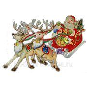 """Новогоднее украшение """"Дед Мороз"""" 62*29см 70840 фото"""