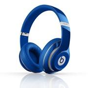 Studio Beats by Dr. Dre наушники полноразмерные проводные, Hi-Fi, Mic., оголовье, Синий фото
