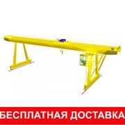 Кран козловой г/п 1-50т, H от 2,4-3,6 м, L до 36м фото