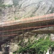 Леса подвесные для реконструкции мостов ALTEC AluSprint фото