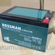 Аккумулятор 12 Ач свинцово-кислотный герметичный Bossman Master 12V 6DZM12 - GEL12120 фото