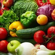 Свежие овощи, фрукты фото