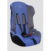 """Детское автомобильное кресло ZLATEK """"Atlantic Basic"""" синий, 1-12 лет, 9-36 кг, группа 1/2/3 фото"""