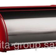 Wesco Хлебница Classic Line, красная, хром 205604-02 фото