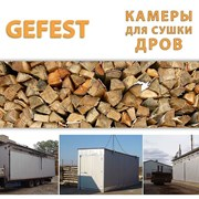 Сушильные камеры DKF для скоростной сушки дров. фото