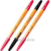 Ручка шариковая orange, economix E10138-04 фото