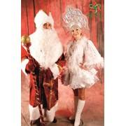 Дед мороз и Снегурочка для взрослого праздника. фото
