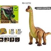 JUNFA Динозавр Бронтозавр р/у, световые и звуковые эффекты, 34,5х14,8х32,7 см (9984) фото