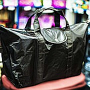 Хозяйственная складная сумка CAMPUS 60х22х35см коричневая фото