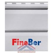 Фасадная панель Fineber Standart серо-голубая 0,205 х 3,66 м фото