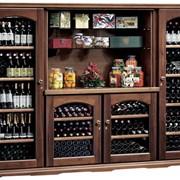Винные деревянные шкафы фото