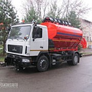 Дорожная машина КО-806-21 на шасси МАЗ 5340В2-485 Евро-4 (ПМ+отв.+щетка) фото