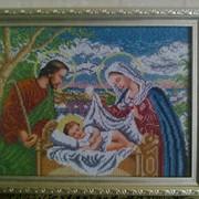Вышивка картин Святое Семейство фото