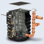 Подъемная станция ZENIT BOX PRO S 50D-4500 (2 насоса) + 2 DAC 50 + 2 VAP 50 + Pipe PVC 50 фото