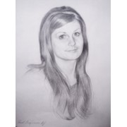 Портрет карандашом | Portrait of a pencil фото