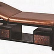 Стационарный массажный стол KO-5-2 деревянный фото