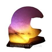 Соляной светильник Месяц 3-4 кг фото