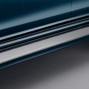 Подножки AeroStep (окрашенные в цвет авто) LC150 в стиле GX460. фото
