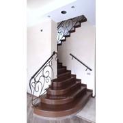 Облагораживание лестниц деревянными ступенями фото