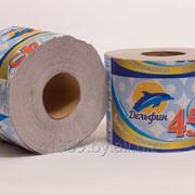 Бумага туалетная однослойная Дельфин 45 фото