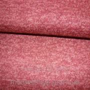Трикотажная ткань меланжевая( бордо) фото