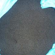 Вторичная гранула полистирола общего назначения, черно-серый, ПТР 15 фото