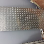 Алюминиевый лист рифленый от 1,2 до 4мм, резка в размер. Гладкий лист от 0,5 мм. Доставка по всей области. Арт-629 фото