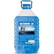 """Незамерзающая жидкость """"MotorWay"""" -30 5L Blue фото"""