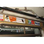 Размещение рекламы в вагонах метро фото
