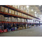 Стелажі складські купити, продаж стелажів виробництво Україна