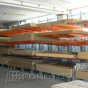 Консольные стеллажи для профилей, труб, металлопроката